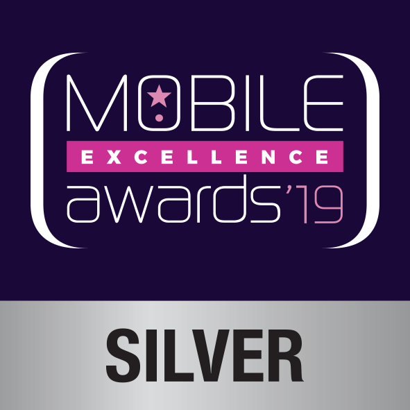SILVER Mobile Excellence Awards 2019